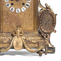 Unusual French Gilt Bronze Mantel Clock (6 of 6)