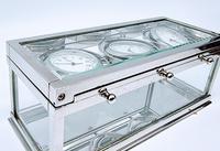 Decorative Desk or Wall Clock with Three Multi - Directional Giroscopic Clocks (8 of 8)