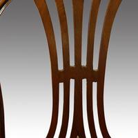 Set of 8 Edwardian mahogany Hepplewhite dining chairs (7 of 12)