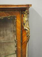 French Rosewood Vitrine by Thomas Justice & Sons (8 of 14)