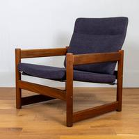 Super Mid Century 1960-70s Campus Armchair by Lupton Morton - 1 Remaining (10 of 13)