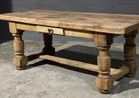 Rustic French Oak Farmhouse Kitchen Dining Table (16 of 16)
