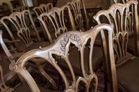 10 Chippendale style Mahogany Dining Chairs (2 of 5)
