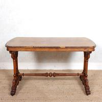 Walnut Writing Table 19th Century (8 of 14)