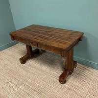 Beautiful Large Victorian Antique Rosewood Writing Table (5 of 6)