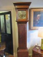 Small George II Period Antique Cottage Longcase Clock (8 of 8)
