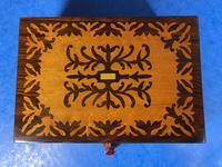 William IV Burr Maple & Rosewood Jewellery Box (12 of 12)