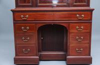 Superb Quality 19th Century Mahogany Secretaire Desk Cabinet (8 of 12)