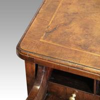 George III Walnut Kneehole Desk (3 of 12)