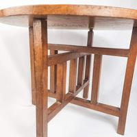 Carved Nigerian African Vintage Table (11 of 11)