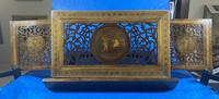 Victorian Italian Sorento Olivewood Book Stand with Micro Mosaic Inlay (3 of 23)