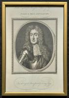 Rare Set of 12 Original 18th Century Engraving's of Kings & Queens of England (10 of 18)