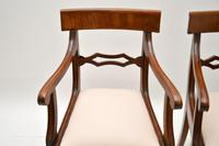 Pair of Antique Regency Period Mahogany Carver Armchairs (7 of 11)