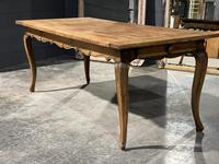 French Oak Farmhouse Kitchen Dining Table (12 of 18)