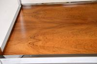 1970's Vintage Rosewood & Chrome Coffee Table by Howard Miller Associates (8 of 8)