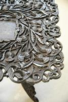 Anglo Indian Carved Table (8 of 11)