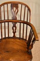 Ash & Elm Windsor Armchair with Low Back (5 of 6)