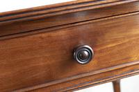 Very Fine George III Mahogany Writing Table with 2 Fitted Drawers (5 of 6)
