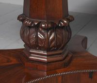 Antique William IV Rosewood Fold Over Tea Table (6 of 10)