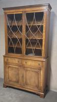 Mahogany Bookcase Reprodux Bevan Funnell (12 of 12)