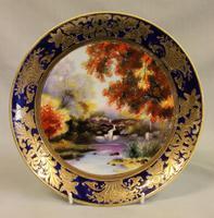 A Wonderful Noritake Cabinet Plate (3 of 5)