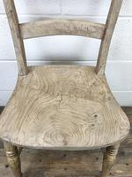 Pair of Antique Bar Back Farmhouse Kitchen Chairs (6 of 8)