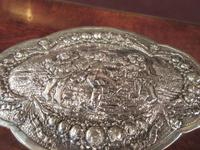 Antique Cast Silver Shaped Table Box (2 of 8)