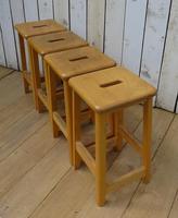 Vintage School Lab Bar Stools (6 of 7)