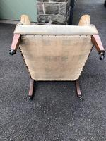 Antique English Upholstered Armchair (6 of 7)