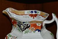 19th Century Real Stone China Jug with Chinoiserie Decoration (7 of 11)