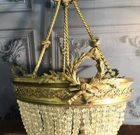 Brass Basket Shaped Light Fitting (8 of 11)