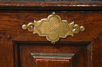 18th Century Welsh Oak Marriage Coffor Bach / Coffer (8 of 8)