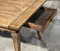 French Oak Farmhouse Kitchen Dining Table (9 of 18)