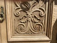 Wonderful Art Nouveau Bleached Oak Sideboard (23 of 26)