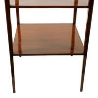 Edwardian Mahogany Lamp Table (7 of 7)