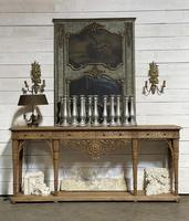 Wonderful French Walnut Console Table (2 of 36)
