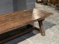 Huge Rustic French Oak Farmhouse Dining Table (29 of 35)