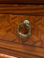 French Parquetry Commode Chest of Drawers (11 of 27)