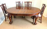 Wonderful Antique Victorian Mahogany Extending Dining Table (14 of 15)