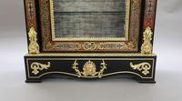 Pair of Victorian English Boulle Side Cabinets (8 of 11)