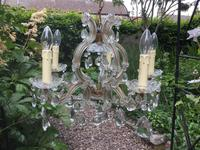 Early 20th Century Glass Chandelier (2 of 2)