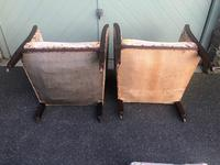Pair of Antique English Upholstered Chairs (12 of 12)
