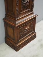 Flemish Carved Oak Grandfather Clock (11 of 13)