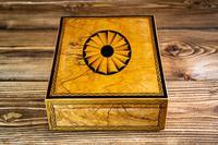 Beautiful Georgian Figured Walnut Jewellery Box 1800 (6 of 13)