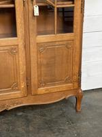 French 3 Door Oak Bookcase or Cabinet (6 of 15)