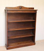 Oak Open Bookcase c.1910 (2 of 10)