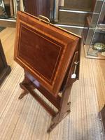 Unusual Inlaid Edwardian Portfolio Cabinet