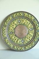 Indian Decorative Copper & Brass Tray (5 of 11)