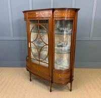 Maple & Co Inlaid Mahogany Display Cabinet (12 of 13)