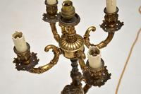 Antique French Gilt Metal Table Lamp (9 of 9)